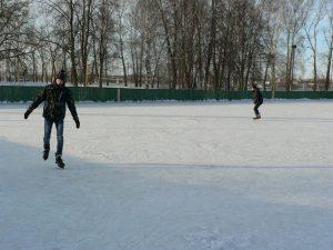 хоккейное поле