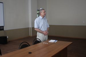 встреча курсантов с преподавателем Ростовского филиала МГТУ ГА