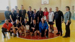 Соревнования по волейболу в зачет городской спартакиады