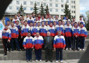 Команда КАТК ГА на спартакиаде в Ульяновск