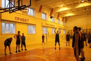 Соревнования по баскетболу, посвященные памяти выпускника колледжа А.В.Софиенко