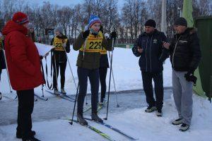 Соревнования по лыжным гонкам, посвященные Дню российского студенчества