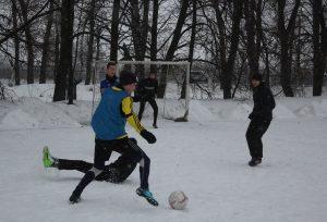Первенство колледжа по мини-футболу на снегу