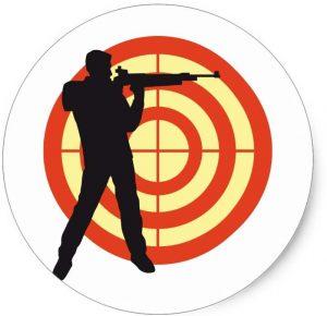 Соревнования по пулевой стрельбе из пневматической винтовки