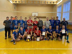 Открытый городской турнир по волейболу среди мужских команд