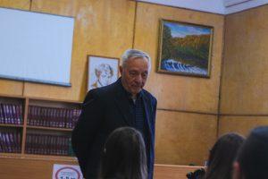 Встреча курсантов с Ю.Б.Поповым
