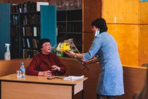 Встреча курсантов колледжа с Родиной Лидией Яковлевной