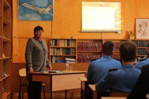 Встреча курсантов колледжа с Варениченко Г.А.